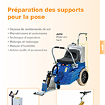 1 PREPARATION DES SUPPORTS POUR LA POSE